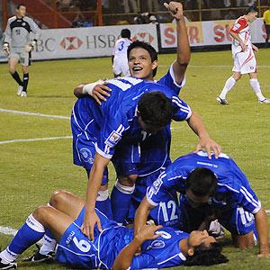 El Salvador vs. Costa Rica