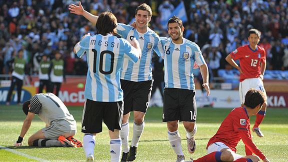 Argentina v Corea del Sur