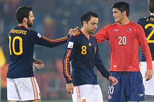 España v Chile