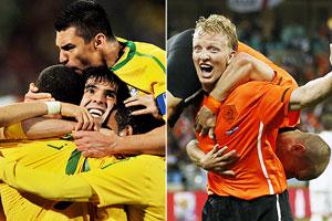 Holanda v Brasil
