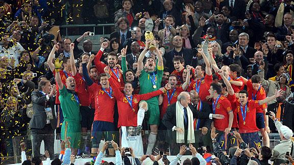 Holanda v España