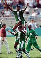 Nigeria, en Atlanta 1996
