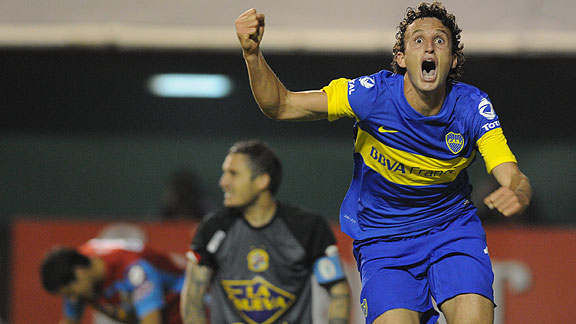 Boca v Arsenal