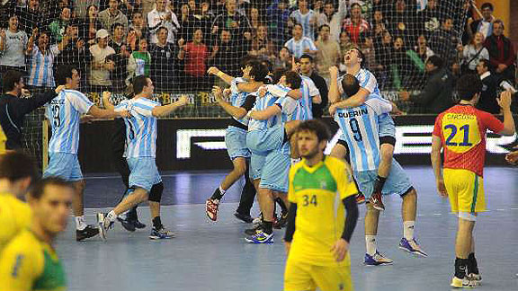 Argentina v Brasil