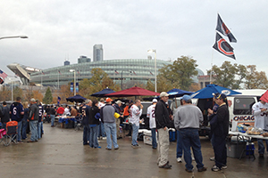 Tailgating con los Chicago Bears