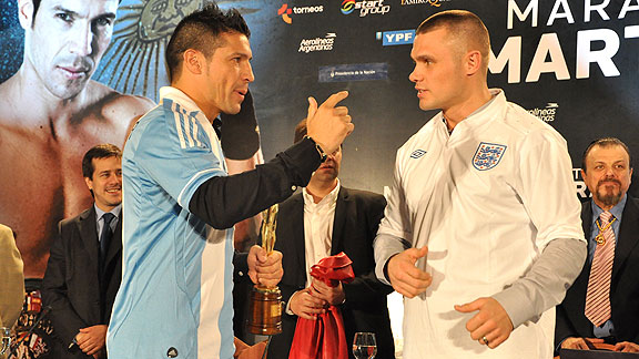 Maravilla Mart�nez vs. Martin Murray