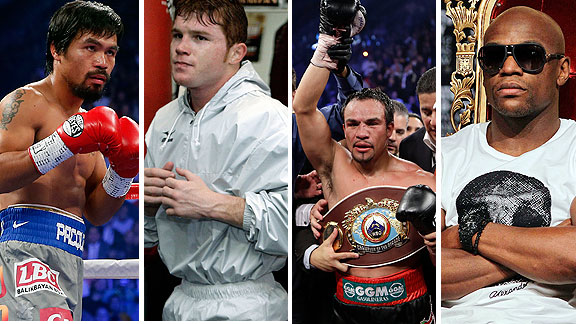 Pacquiao, Canelo, Márquez, Mayweather