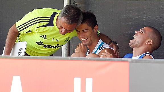 Ronaldo y Mourinho