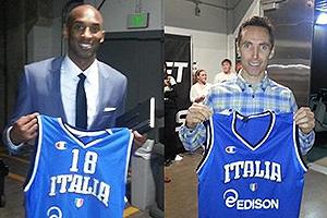 Kobe Nash camisa Italia