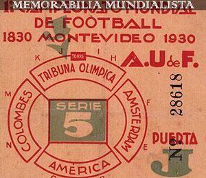 Entrada Mundial 1930