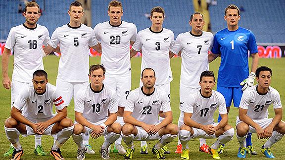 Resultado de imagen para fotos del equipo de futbol de nueva zelanda
