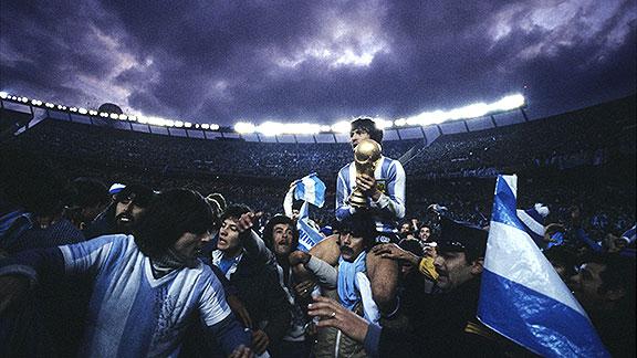 Resultado de imagen para argentina campeona del mundo 78