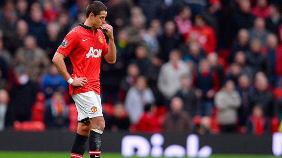 154bb65347 Getty Images El mexicano cumple un complicado rol en el Manchester United