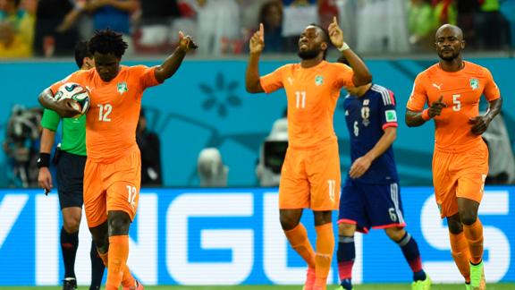 Japón vs. Costa de Marfil