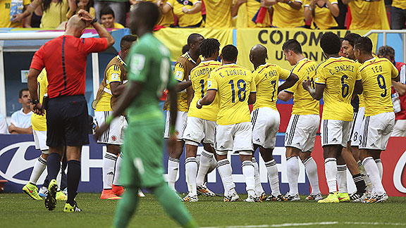 Costa de Marfil vs Colombia