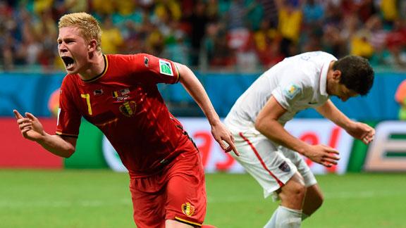 Bélgica vs. EEUU