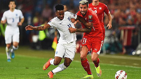 Inglaterra vs. Suiza