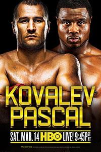 Promoción Guantes de boxeo de Kovalev-Pascal