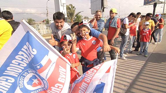 Capitales del Fútbol: Chile