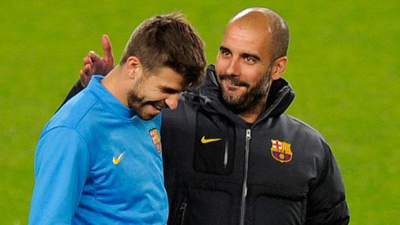 Pique & Guardiola