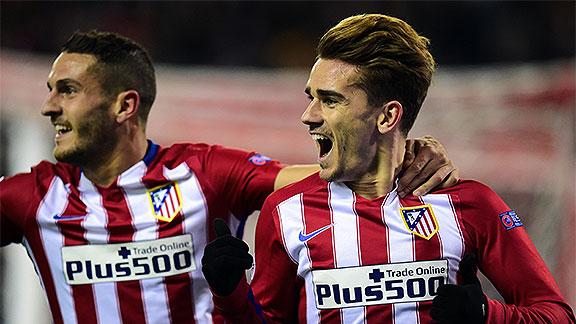 Atlético Madrid v Galatasaray