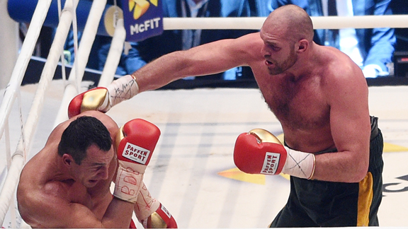 Tyson Fury y Wladimir Klitschko