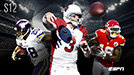 Carson Palmer, Jeremy Maclin, Adrian Peterson