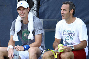 Andy Murray y Alex Corretja