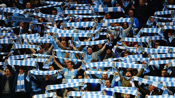 Aficionados del Manchester City