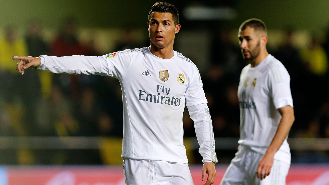 Cristiano Ronaldo y Karim Benzema