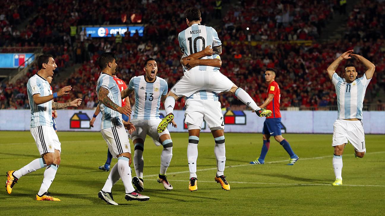 Chile v Argentina