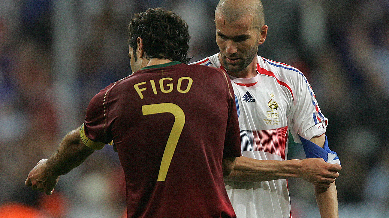 Luis Figo, Zinedine Zidane