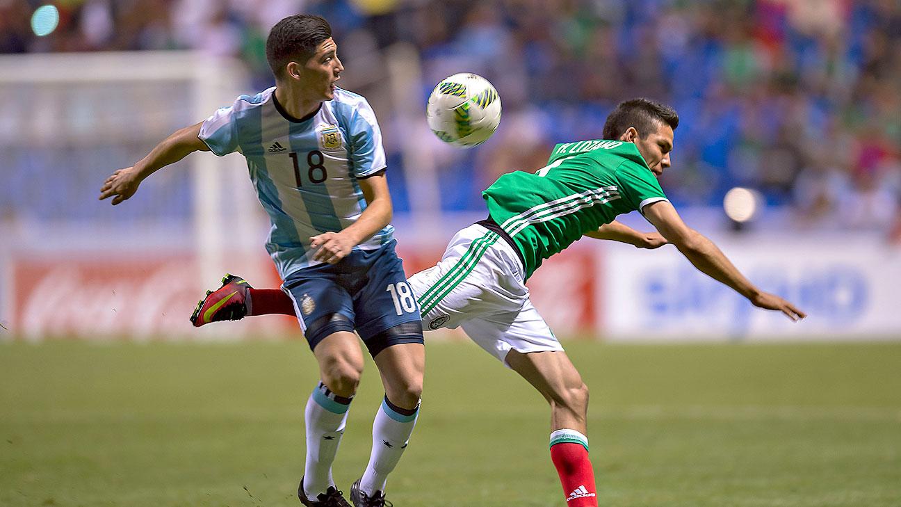 El seleccionado de Olarticoechea igualó en la visita al Tri, en Puebla.