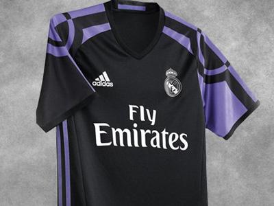 52fcd13929e39 Real Madrid dio a conocer su tercer uniforme para la 2016-17