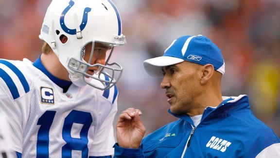 Peyton Manning, Tony Dungy