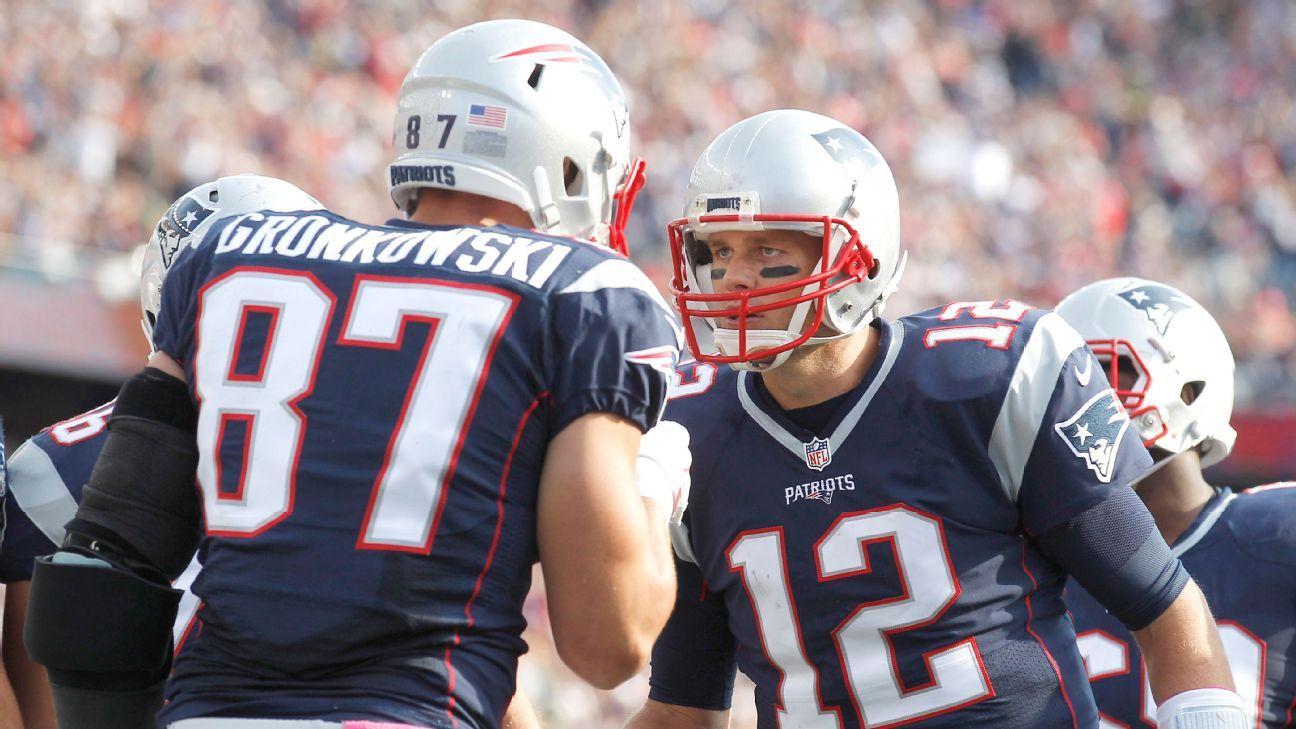 Rob Gronkowski, Tom Brady