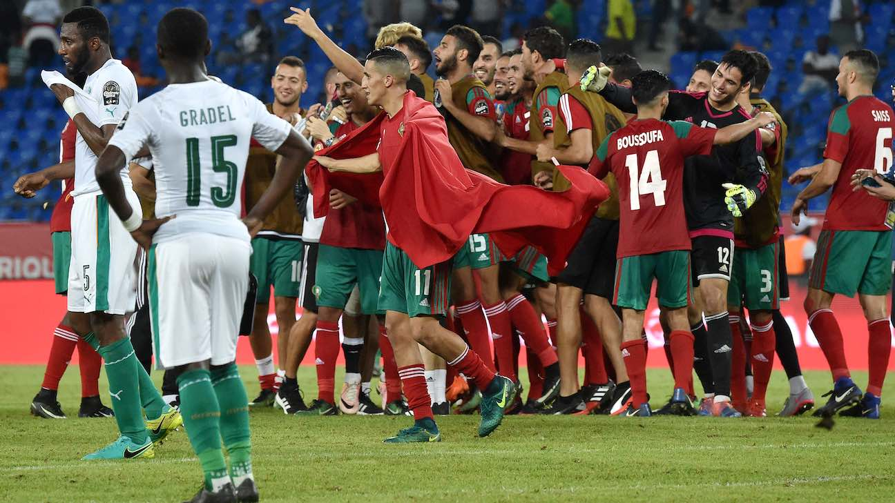 Marruecos vs Costa de Marfil