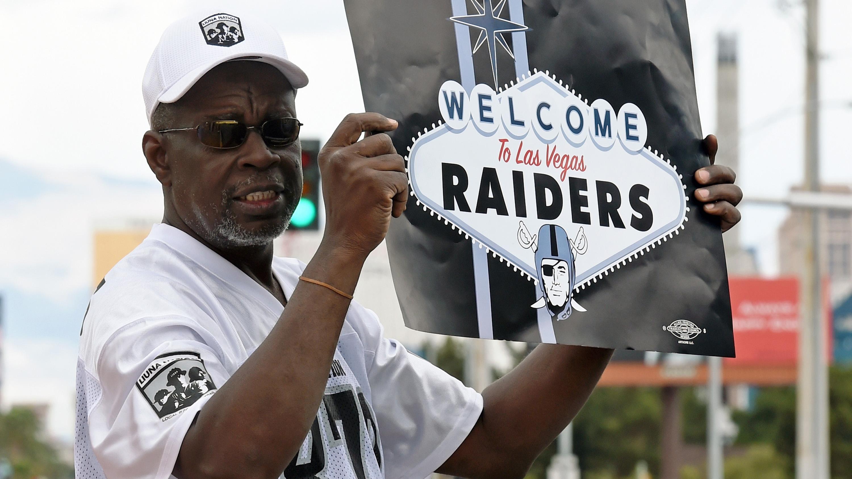 Aficionado, fan, Raiders, Las Vegas