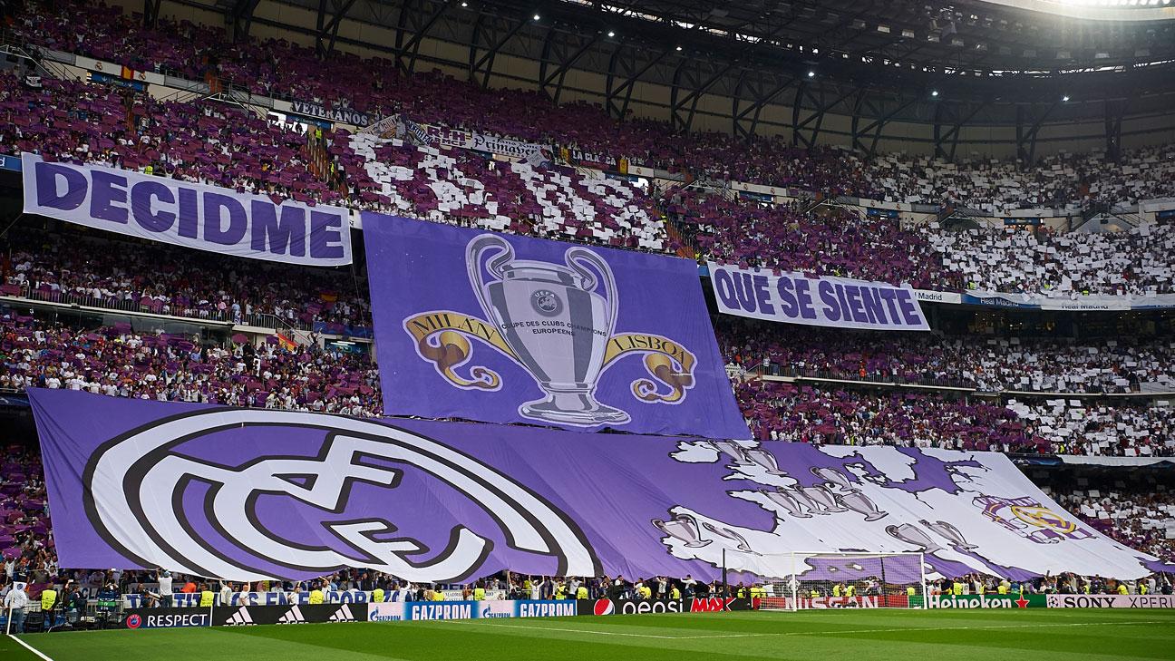 Tifo Santiago Bernabéu