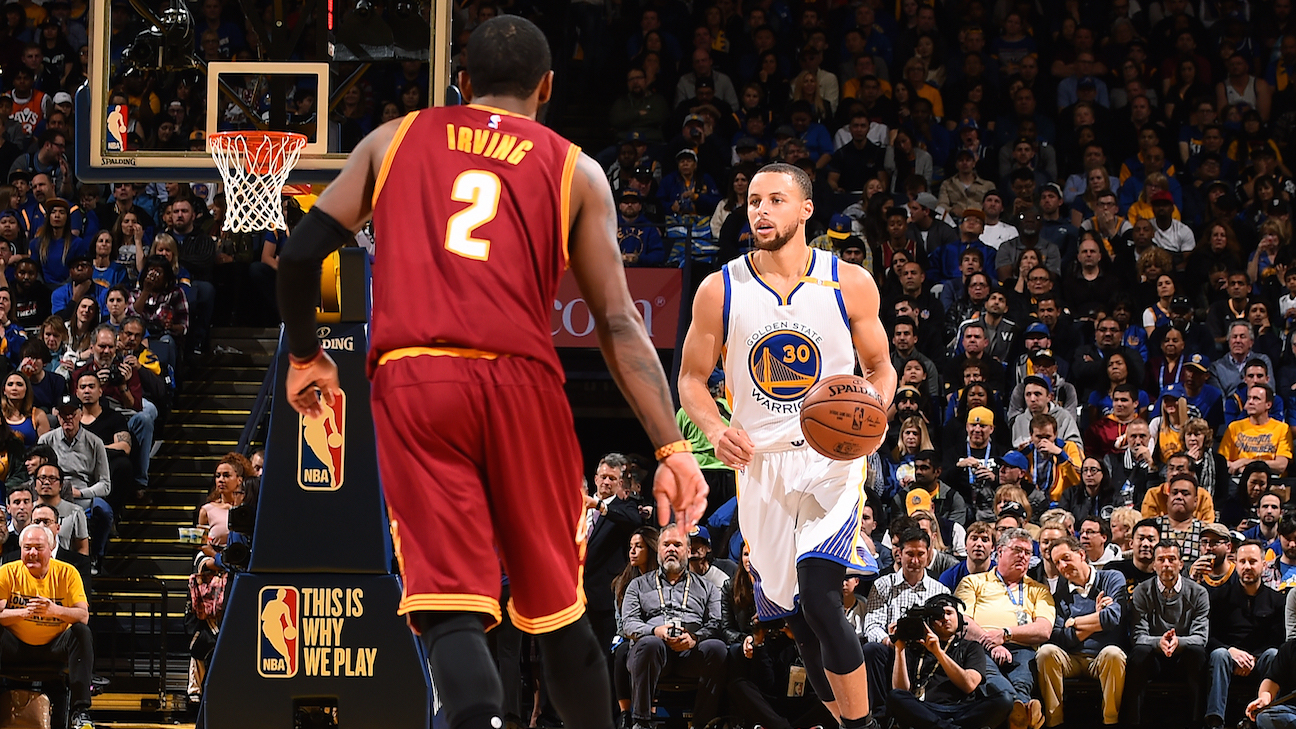 Stephen Curry y Kyrie Irving